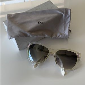 Dior mirror sunglasses